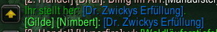 Dr. Zwickys Erfüllung