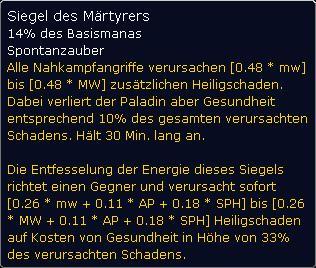 Tooltipp - Märtyrer