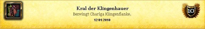 Erfolg - Kral der Klingenhauer
