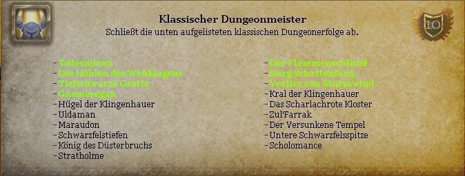Klassischer Dungeonmeister